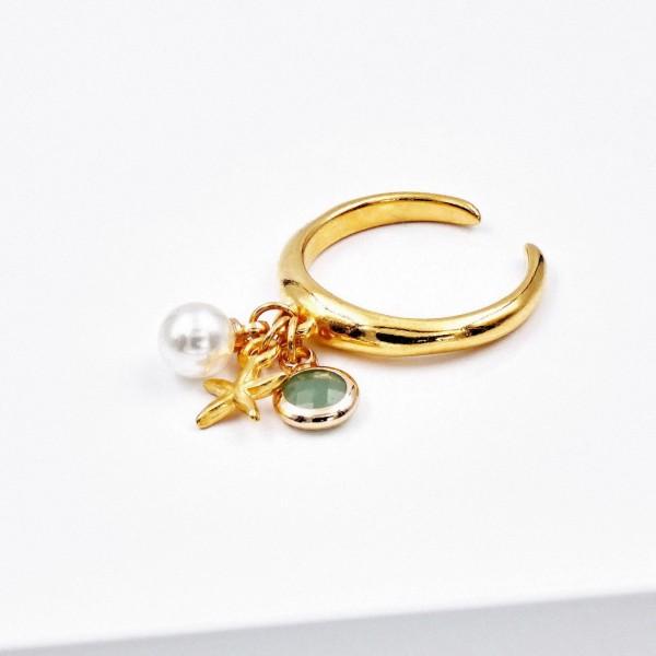 Δαχτυλίδι Golden Seasand