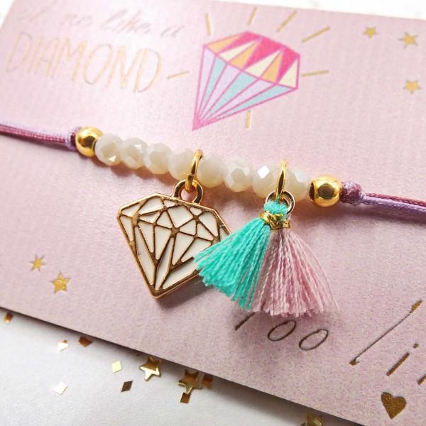 Shine Like a Diamond Kid's Bracelet