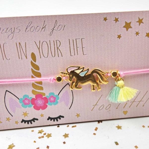 Always Look for Magic in your Life Kid's Bracelet